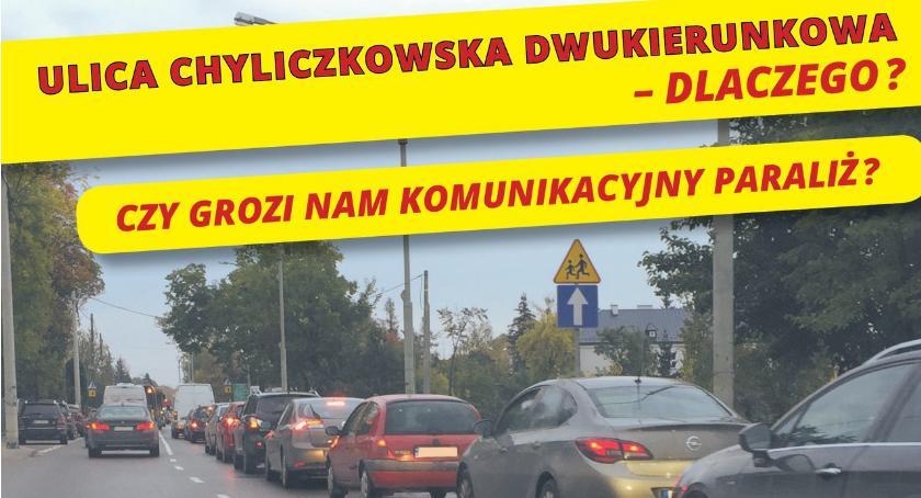Sprawy lokalne, Chyliczkowska dwukierunkowa - zdjęcie, fotografia