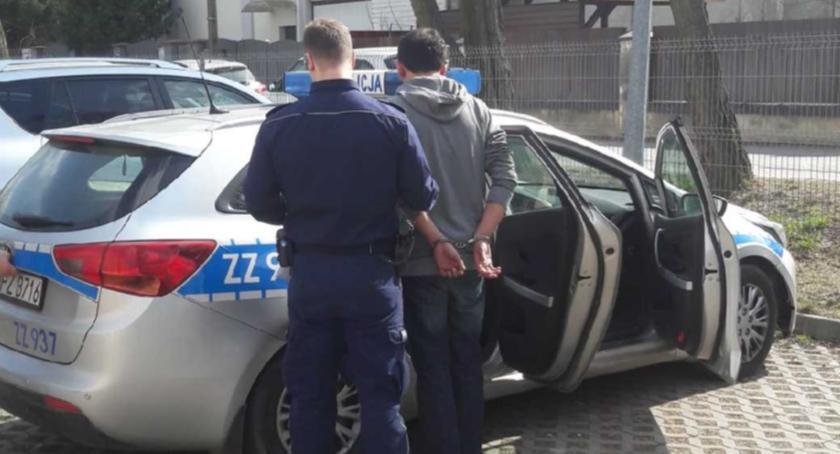 Kronika policyjna, Zatrzymano trzech obywateli Gruzji - zdjęcie, fotografia