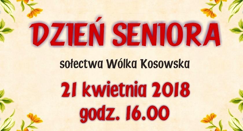 Kultura, Sołecki Dzień Seniora Wólce Kosowskiej(21 2018) - zdjęcie, fotografia