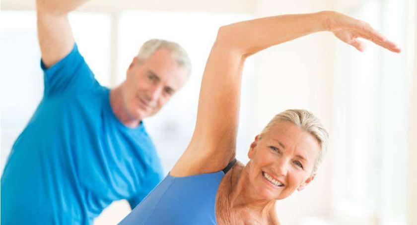 Lekkoatletyka, Bezpłatne ćwiczenia seniorów - zdjęcie, fotografia