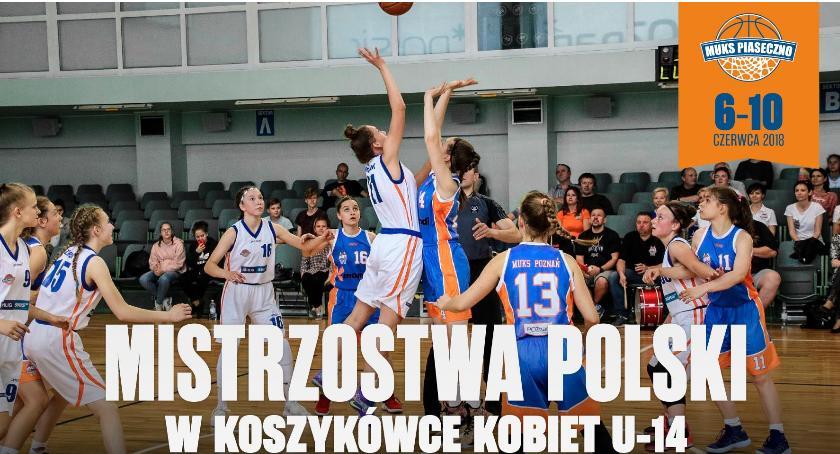 Koszykówka, Finały Mistrzostw Polski koszykówce kobiet - zdjęcie, fotografia