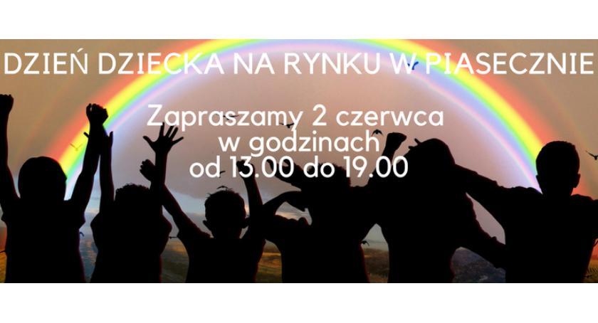 Kultura, Dzień Dziecka Rynku Miejskim Piasecznie - zdjęcie, fotografia