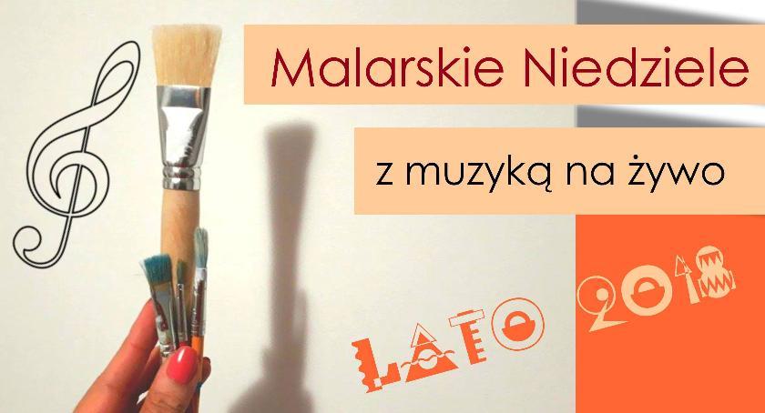 Kultura, Pierwsza Malarska Niedziela Mysiadło 2018) - zdjęcie, fotografia