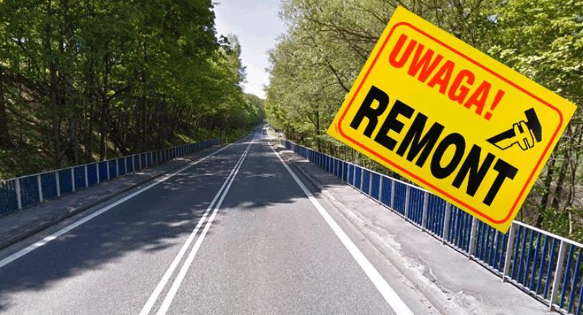 Sprawy lokalne, Remont mostu Chylicach - zdjęcie, fotografia