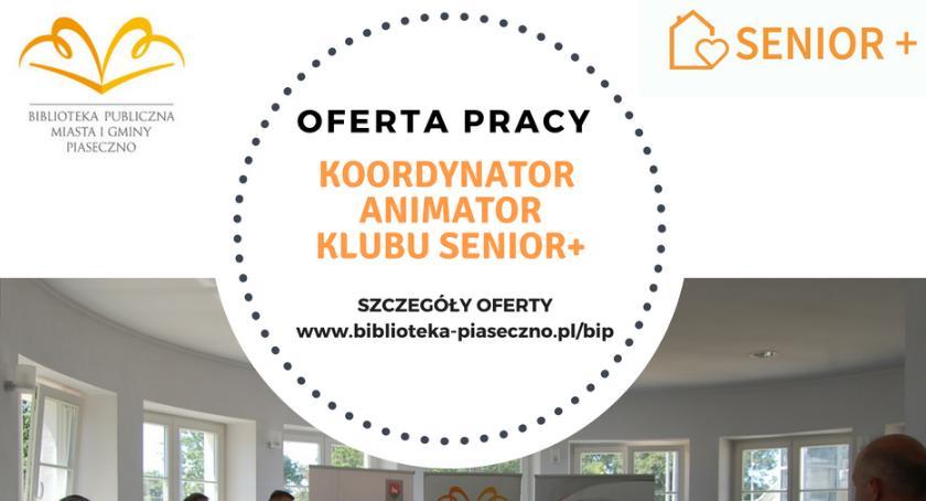 Sprawy lokalne, Poszukiwany Koordynator Klubu Seniora - zdjęcie, fotografia