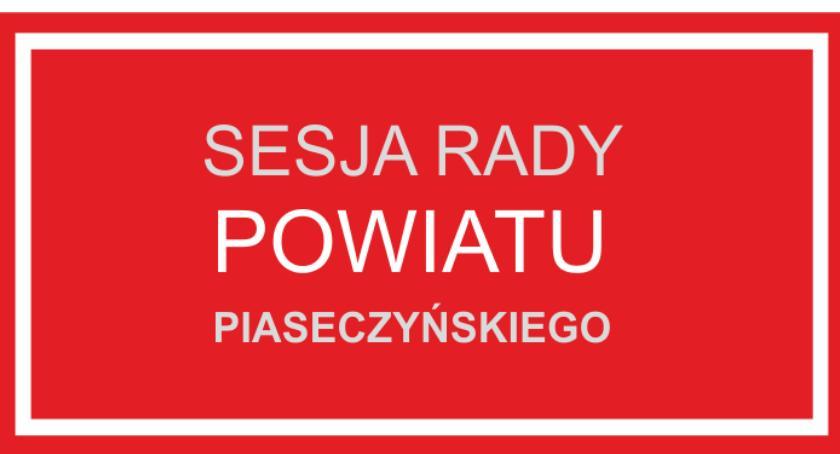 W Urzędzie, sesja Powiatu - zdjęcie, fotografia