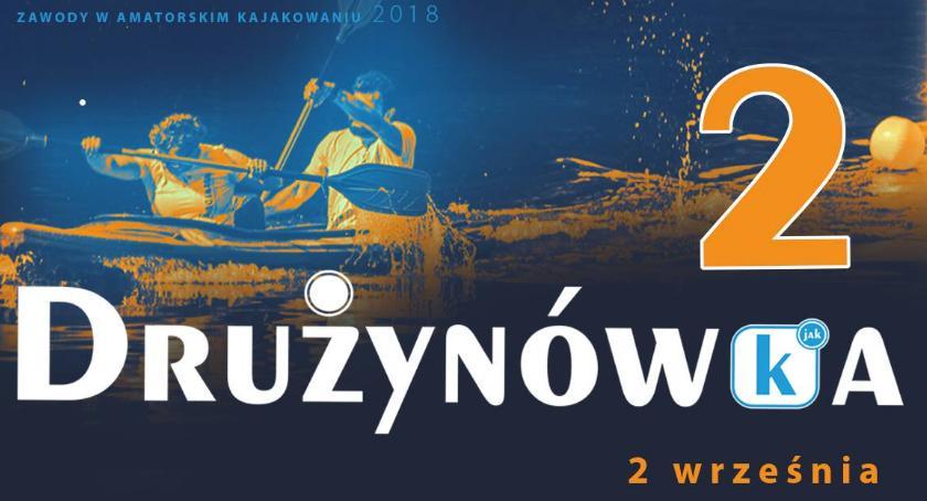 Kajaki, Drużynówka wrześniowe zawody amatorskim kajakowaniu - zdjęcie, fotografia