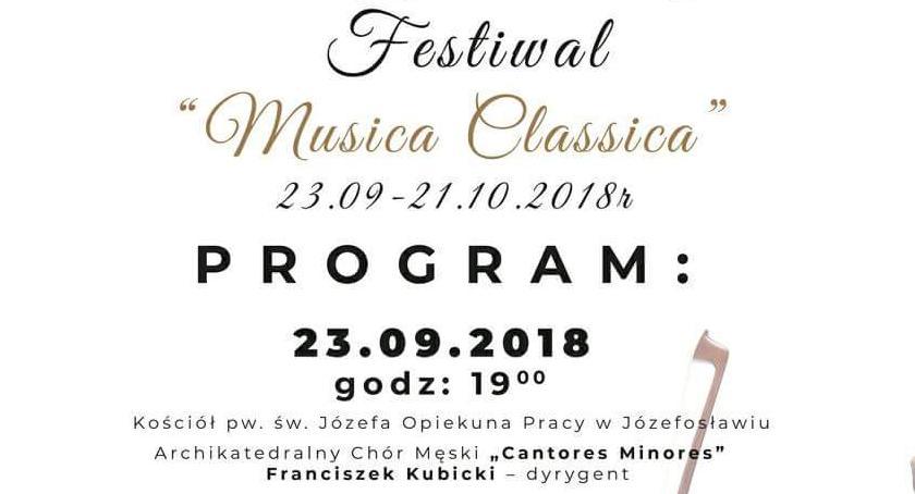 """Koncerty, Międznarodowy Festiwal """"Musica Classica"""" - zdjęcie, fotografia"""