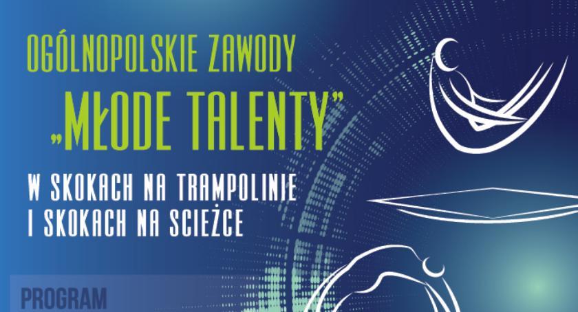 Lekkoatletyka, MŁODE TALENTY Piasecznie skoki trampolinie ścieżce akrobatycznej - zdjęcie, fotografia
