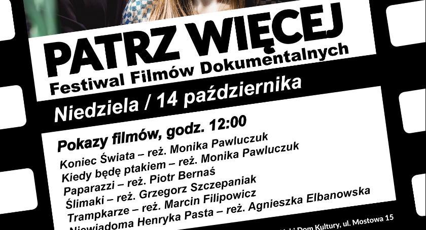 Film, Festiwal Filmu PATRZ WIĘCEJ - zdjęcie, fotografia
