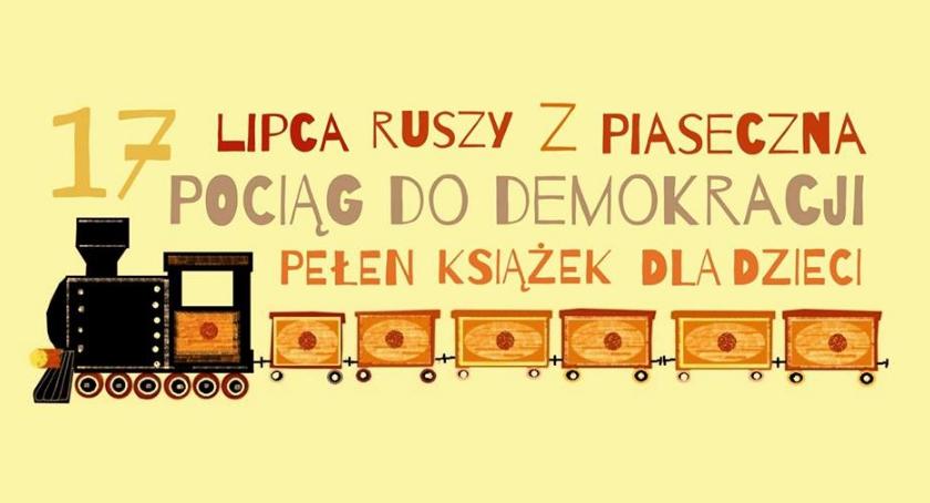 Rekreacja, Pociąg demokracji - zdjęcie, fotografia