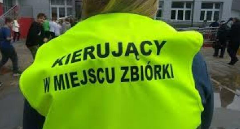 Kronika policyjna, Ćwiczenia zakresu ratownictwa ewakuacji alarmowania - zdjęcie, fotografia