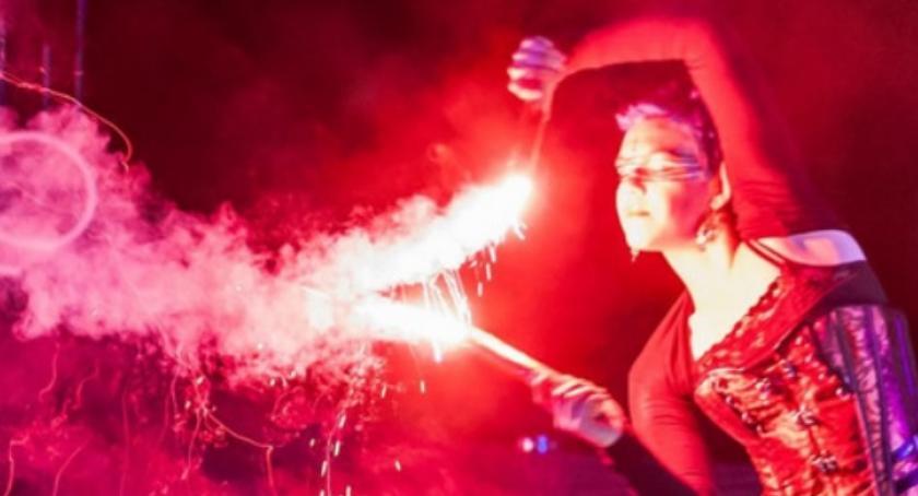 Kultura, WOŚP Konstancin fireshow - zdjęcie, fotografia