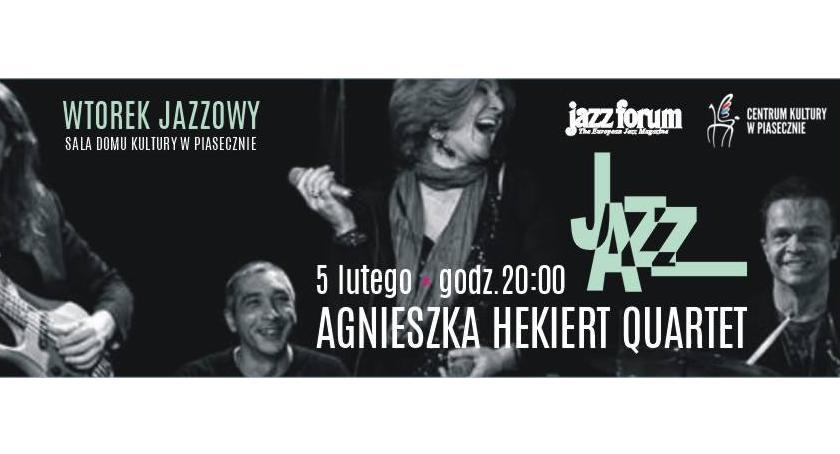 Kultura, Agnieszka Hekiert Wtorku Jazzowym - zdjęcie, fotografia