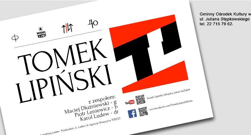 Koncerty, Tomek Lipiński zespołem - zdjęcie, fotografia