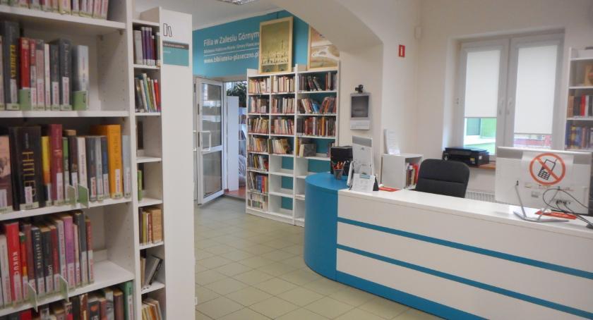 Sprawy lokalne, Zamknięcie biblioteki Zalesiu Górnym remontu - zdjęcie, fotografia