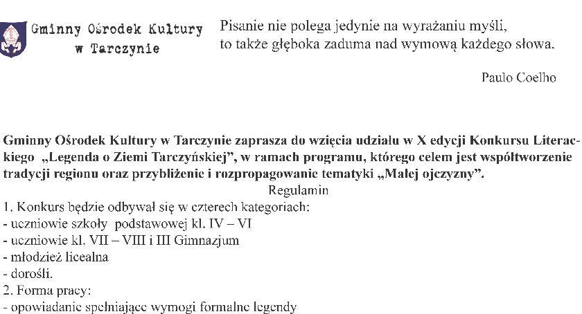 Książka, Legenda ziemi tarczyńskiej - zdjęcie, fotografia