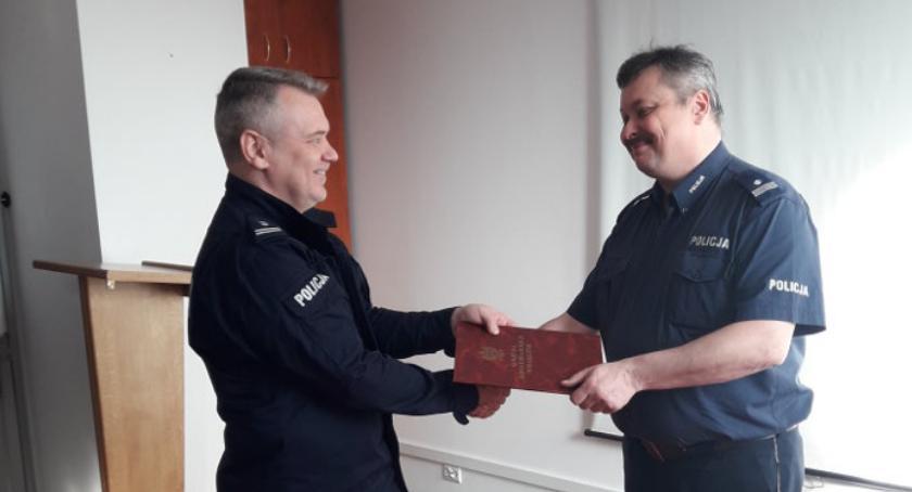 Kronika policyjna, Zmiana stanowisku Komendanta Komisariatu Policji Lesznowoli - zdjęcie, fotografia