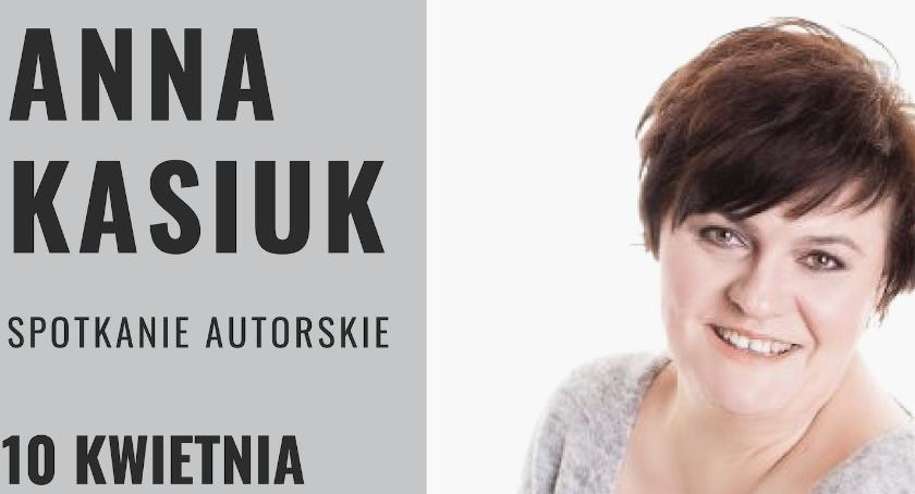 Kultura, Spotkanie Anną Kasiuk - zdjęcie, fotografia