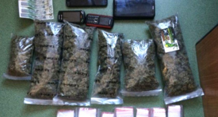 Kronika policyjna, Zatrzymany uprawę konopi posiadanie marihuany - zdjęcie, fotografia