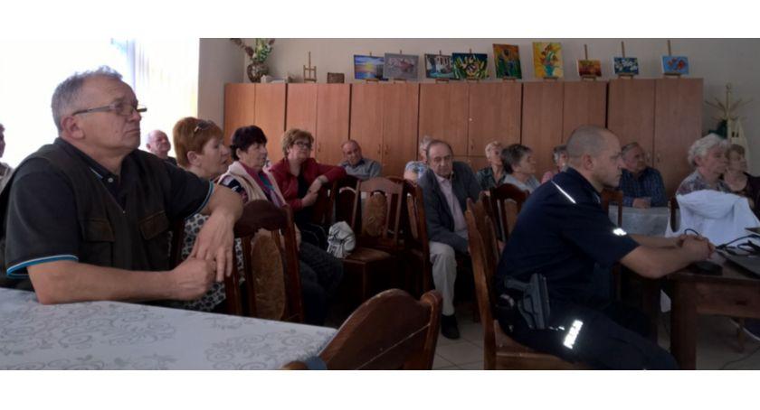Kronika policyjna, Złotokłos kolejny programu Piaseczno bezpieczne miasto bezpieczna gmina - zdjęcie, fotografia