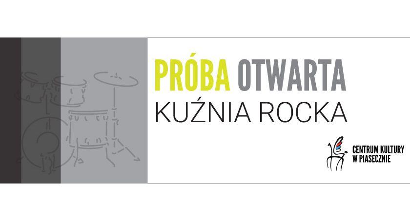 Kultura, Próba otwarta Kuźni Rocka - zdjęcie, fotografia