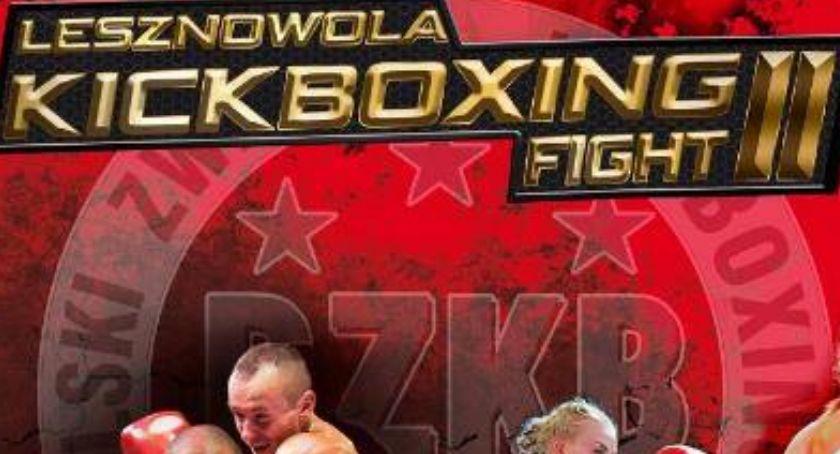 Sztuki walki, Lesznowola Kickboxing Fight - zdjęcie, fotografia