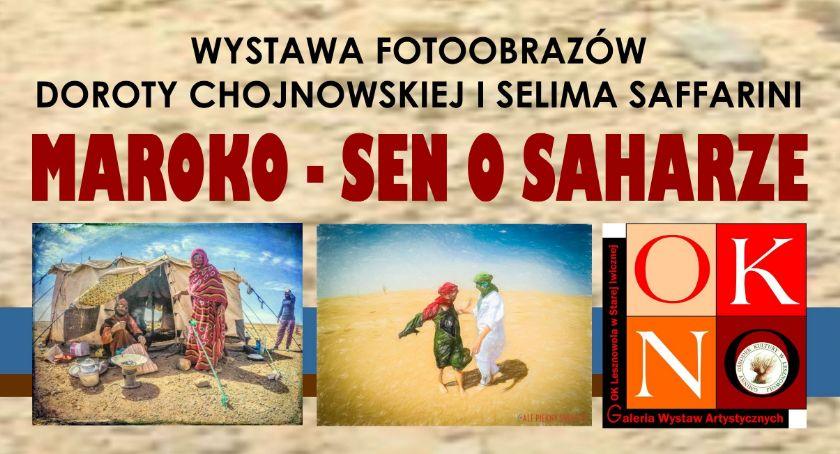 Wystawy, Maroko Saharze Wystawa fotoobrazów Stara Iwiczna 2019) - zdjęcie, fotografia