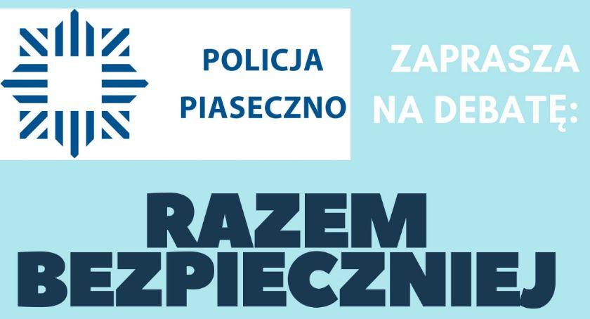 Kronika policyjna, Zapraszamy debatę społeczną Prażmowie - zdjęcie, fotografia
