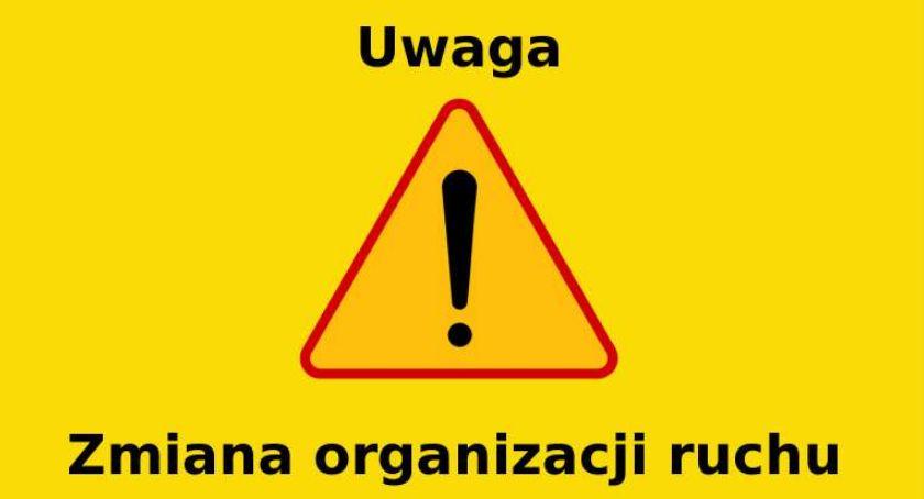 Sprawy lokalne, Czasowa zmiana organizacji ruchu centrum Piaseczna - zdjęcie, fotografia