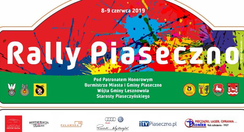 Sprawy lokalne, Rally Piaseczno - zdjęcie, fotografia
