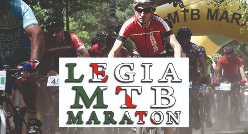Kolarstwo, Legia Maraton Mistrzostwa Magdalenki - zdjęcie, fotografia