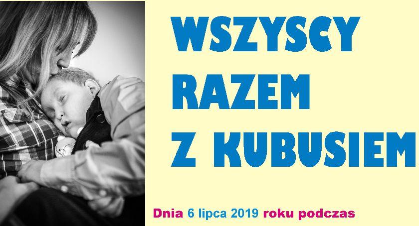 Sprawy lokalne, Zbiórka pieniędzy Kubusia Jarzyńskiego - zdjęcie, fotografia