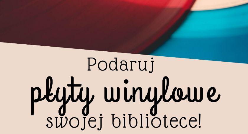 Książka, Podaruj winyle bibliotece - zdjęcie, fotografia