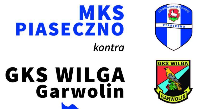Piłka nożna , Piaseczno zagra Wilgą Garwolin - zdjęcie, fotografia