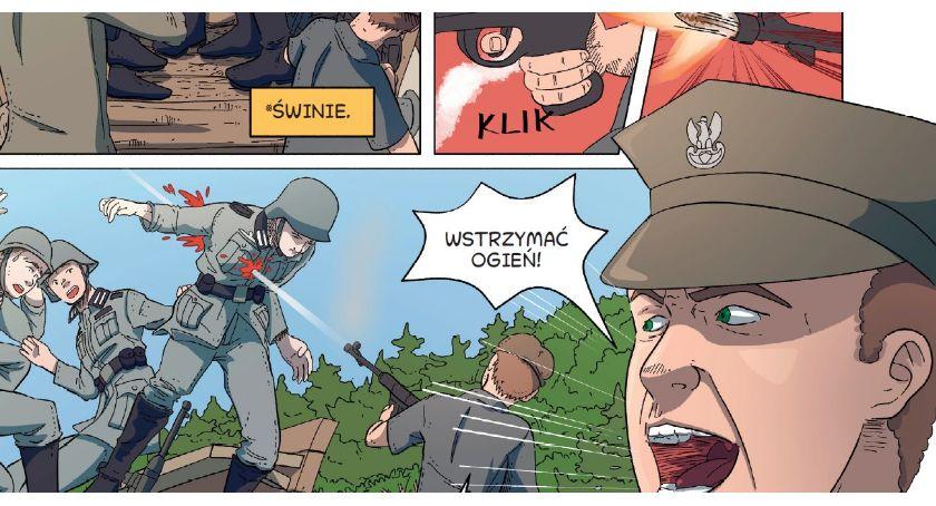 Książka, Promocja komiksu Zimny Dół Gorące Serca - zdjęcie, fotografia