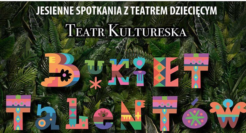 Teatr, Bukiet Talentów przedstawienie teatralne dzieci - zdjęcie, fotografia