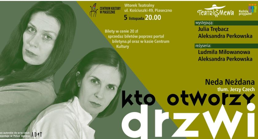 Kultura, otworzy drzwi Piasecznie - zdjęcie, fotografia