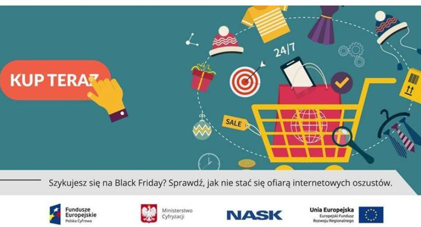 Sprawy lokalne, Szykujesz Black Friday Sprawdź stać ofiarą internetowych oszustów - zdjęcie, fotografia