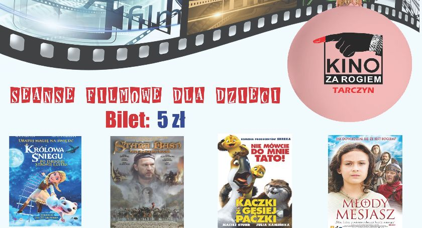 Film, Grudzień Kinie Rogiem Filmy dzieci - zdjęcie, fotografia
