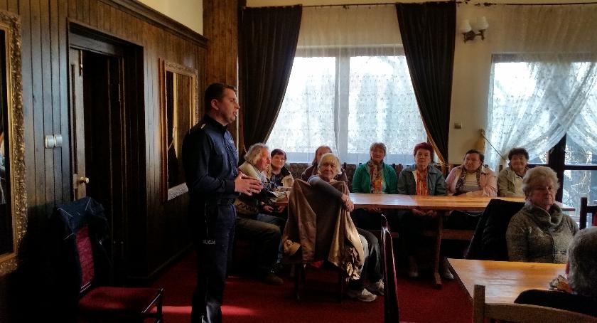 Kronika policyjna, Kolejne spotkanie ramach Mazowieckiej Akademii Seniora - zdjęcie, fotografia