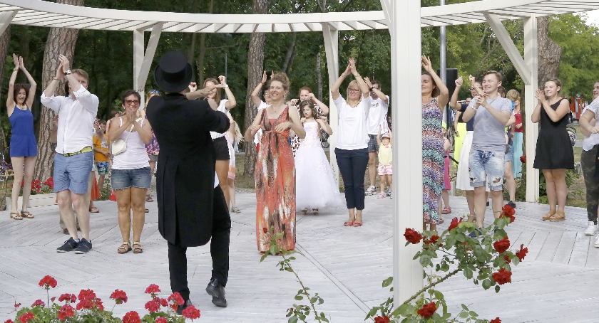 Taniec, Roztańczona Hugonówka - zdjęcie, fotografia