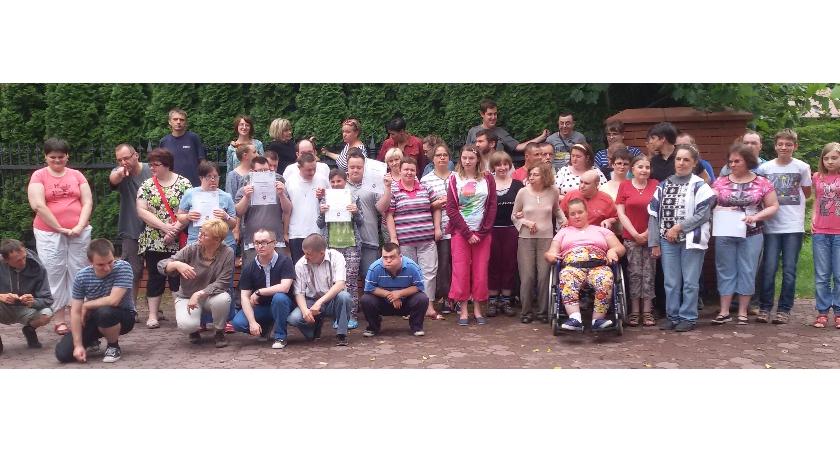 Promocja Powiatu, lecie Warsztatu Terapii Zajęciowej - zdjęcie, fotografia