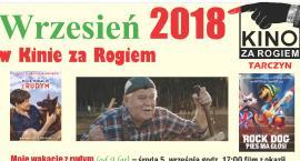 Kino za Rogiem -wrzesień 2018