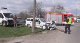 Trzy osoby ranne w wypadku przy Okulickiego