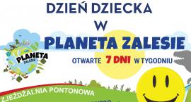 Policyjna prezentacja na Dzień Dziecka w Zalesiu Górnym