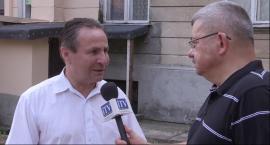 Wywiad z Janem Dąbkiem o przetargu na dzierżawę nieruchomości Chyliczkowska 20
