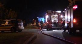 Na Reytana w Piasecznie spłonął warsztat samochodowy