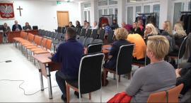 Spotkanie w Starostwie rodziców osób niepełnosprawnych m.in z wicestarostą i wiceburmistrz Piaseczna
