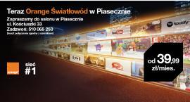 Orange Światłowód dla mieszkańców Piaseczna